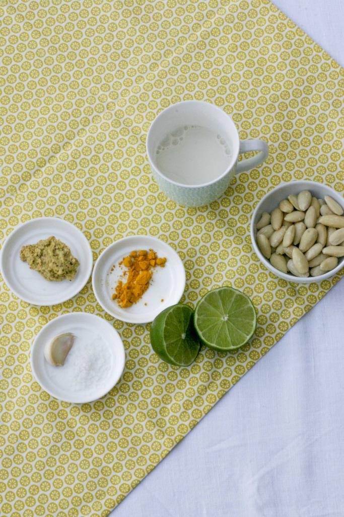 almondaise-ingredienten