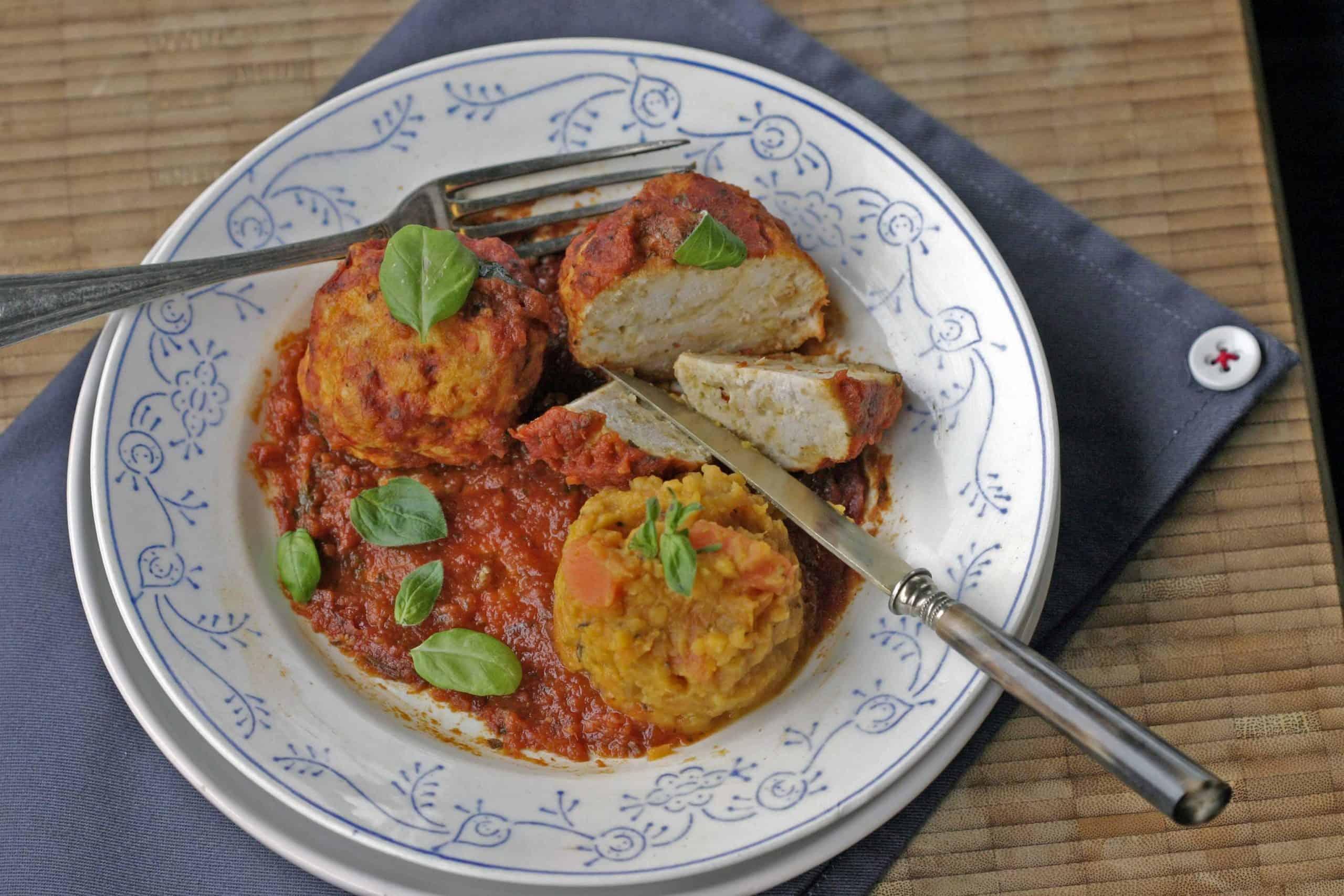 Keukenrevolutie - kipballetjes in tomatensaus