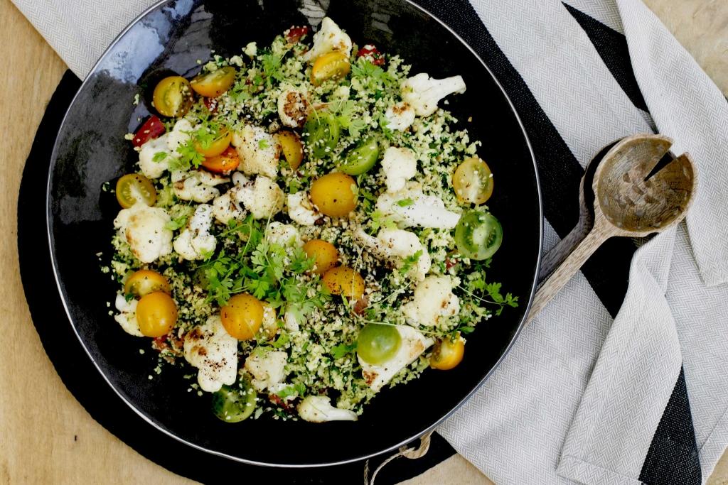 Bloemkool taboul keukenrevolutie foodblog for Palestijnse keuken