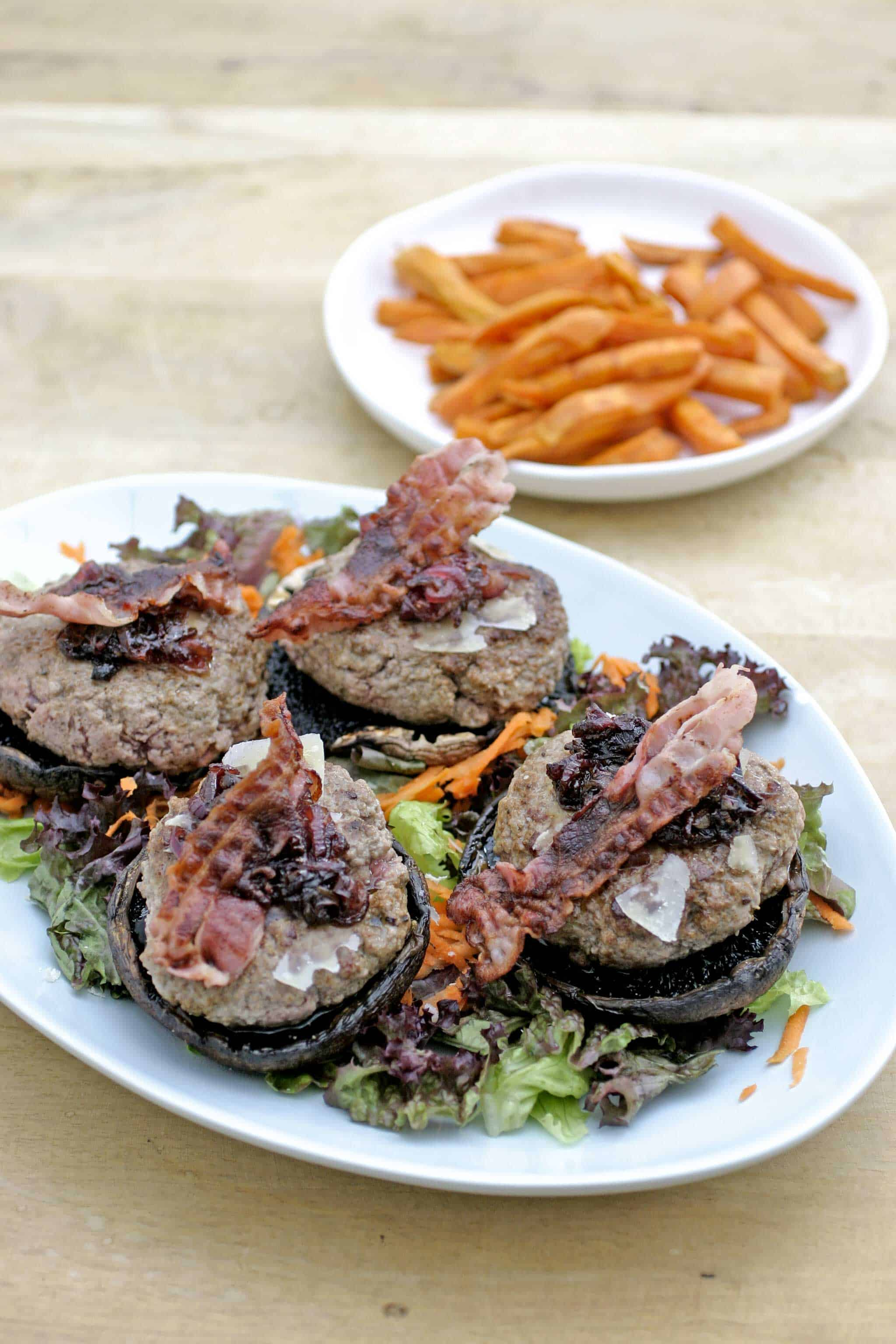 BLT burgers met portobello | Keukenrevolutie. Foodblog