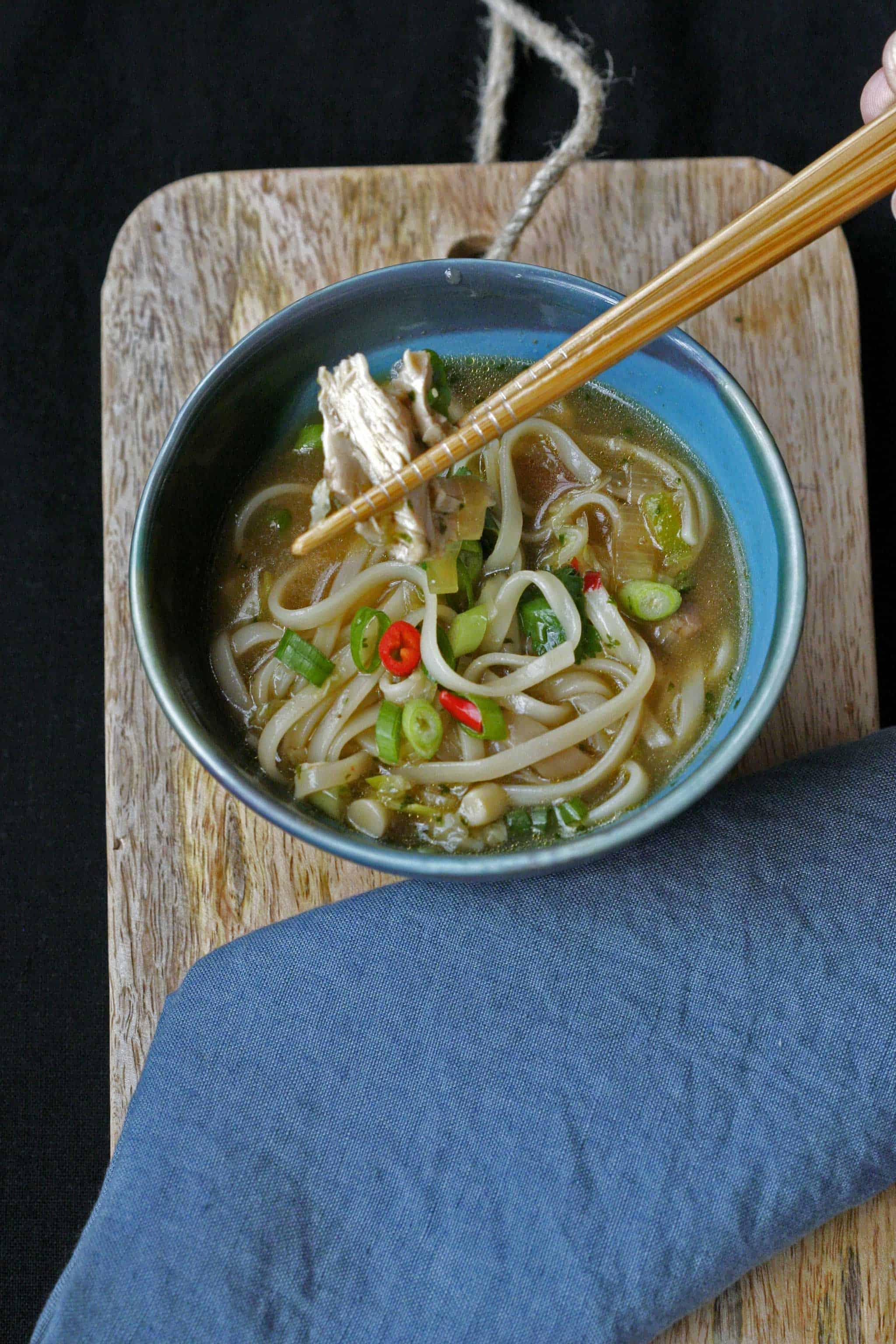 ramen miso soep