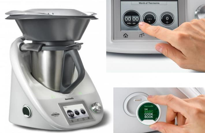 Thermomix touchscreen