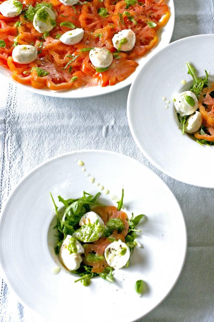 Tomaat-mozzarella