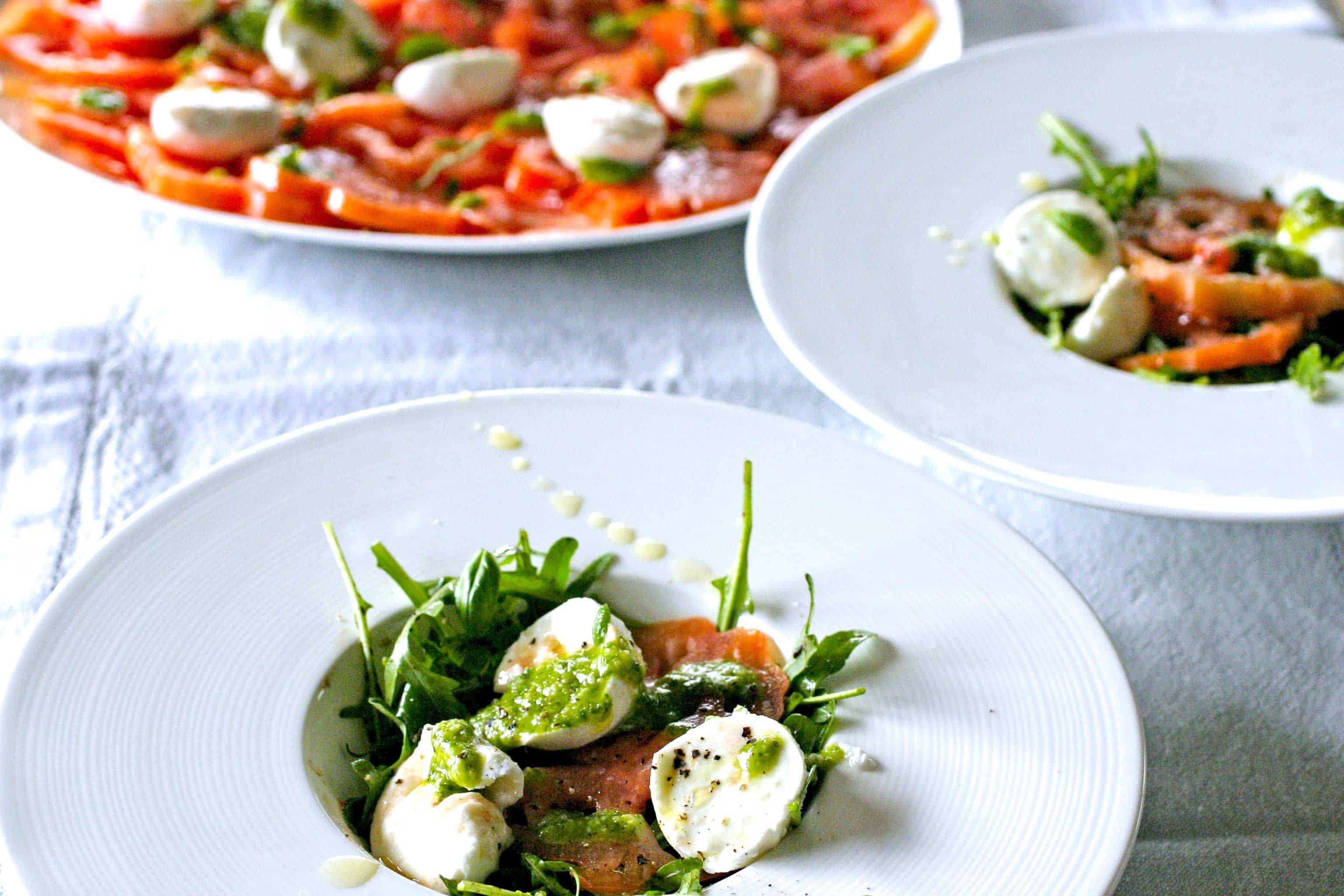 New Tomaat Mozzarella net iets anders | Keukenrevolutie. Foodblog #PE27