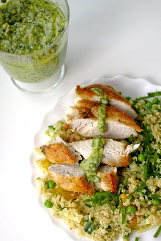 quinoa-pesto-kip