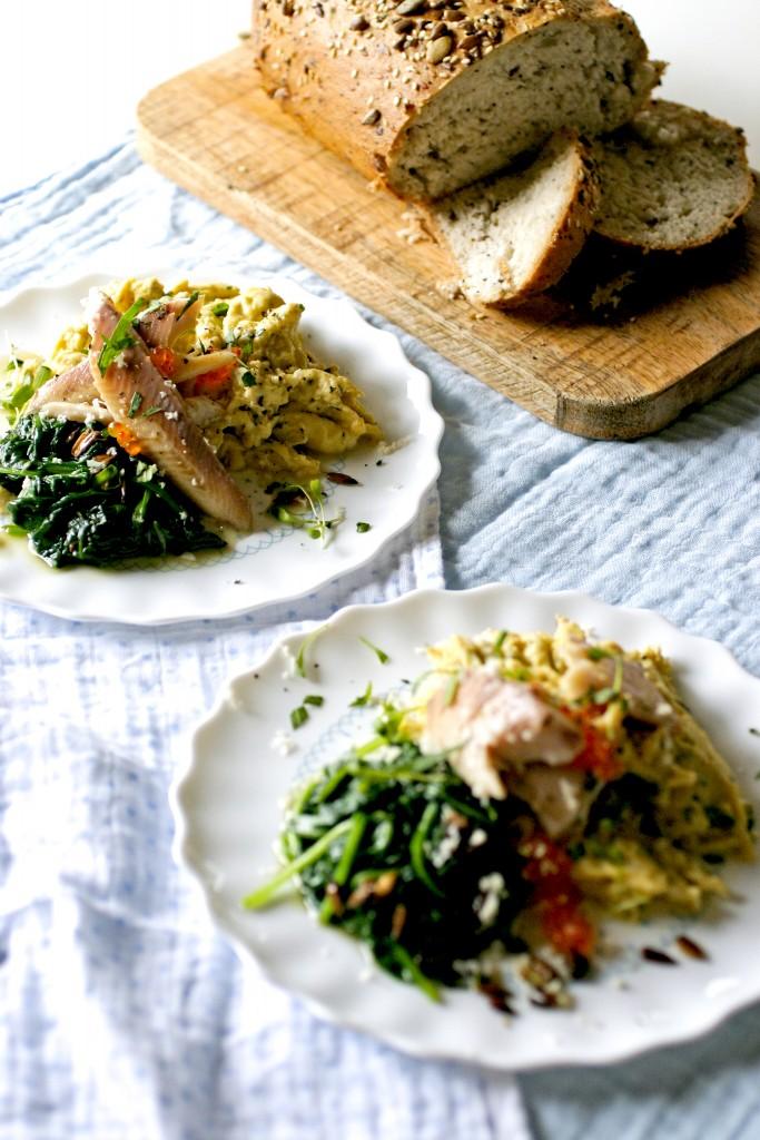 roerei-forel-en-mierikswortel