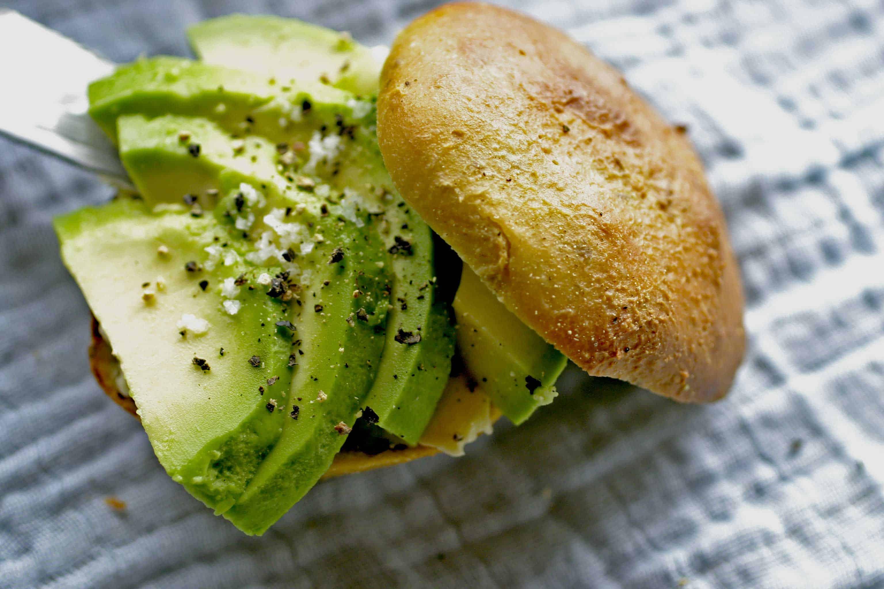 Glutenvrije avocado broodjes