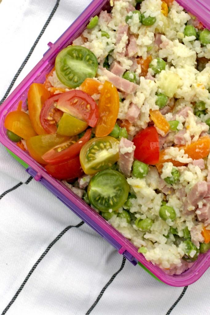 lunchbox-rijstsalade