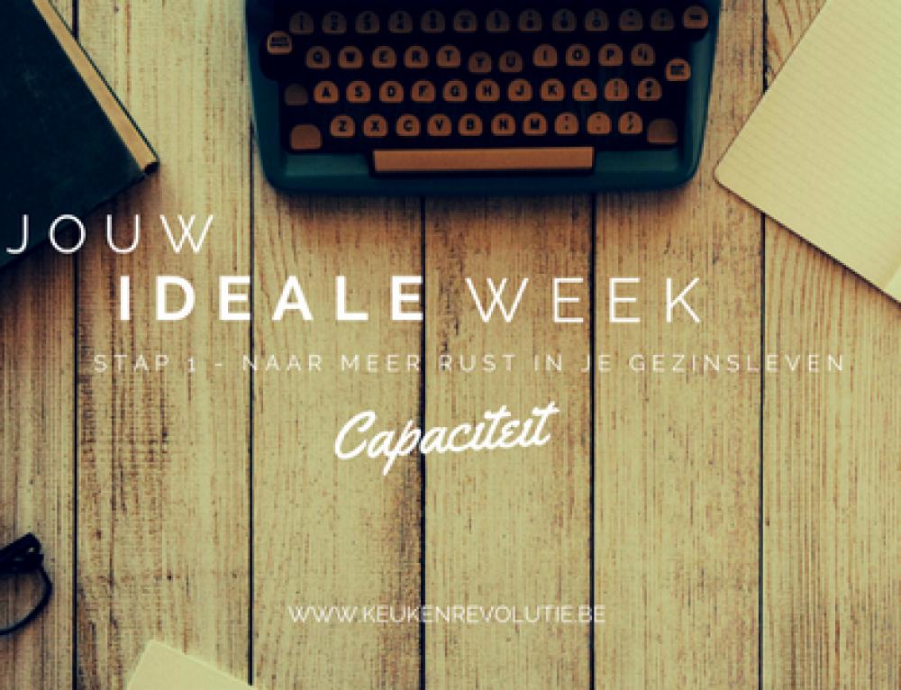 De ideale week: Hoeveel tijd heb jij over per week?
