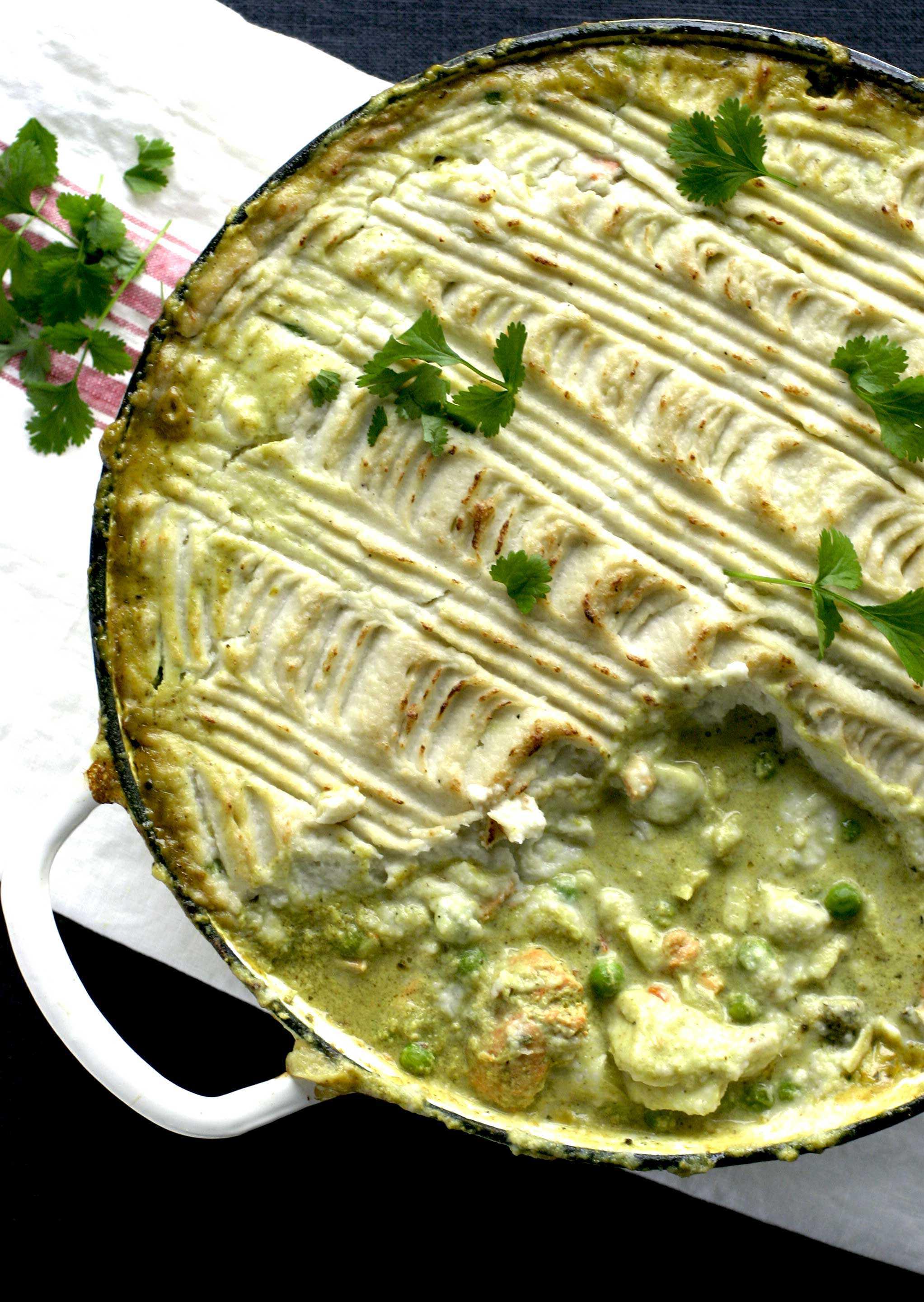 Indiaas Oosters vispannetje. Recept op keukenrevolutie